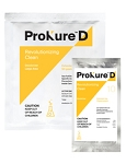 ProKure D 25 gram Fast Use Deodorizer  Case of 12 Odor Control Pouch 2,250 Cubic feet No Clam Shell