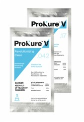 ProKure V 20 gallon Lg Volume, Add Water, Multi-Surface 3.36 oz Pouch